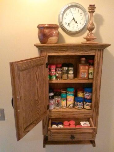 Spice Cabinet Configuration